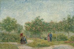 Een tuin met geliefden, 1887